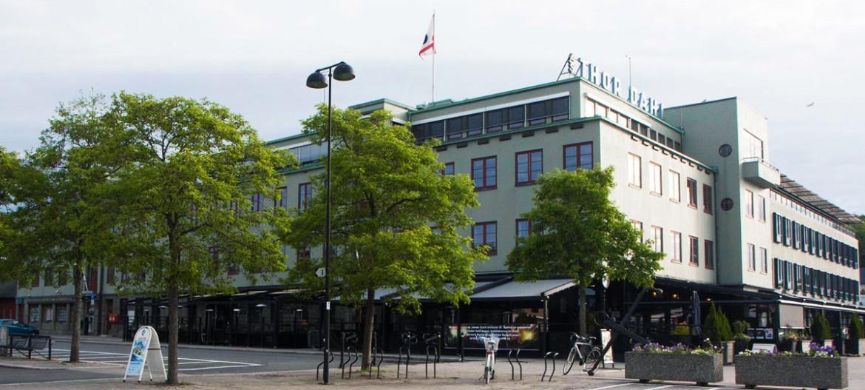 <h2>Miki Regnskap holder til i 4.etasje i Thor Dahl-bygget på brygga i Sandefjord</h2>